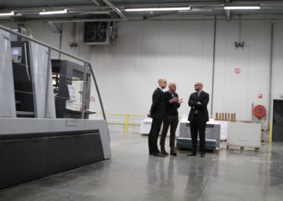 EDA, Visit Printing Facility, Snel
